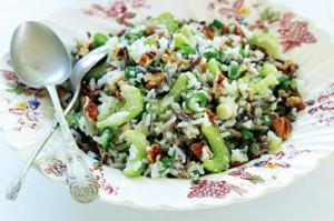 Wild Rice &amp; Pecan Salad