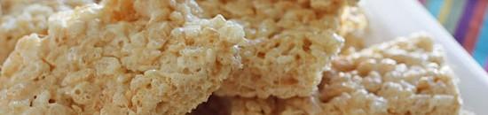 Low-Calorie Rice Krispy Squares