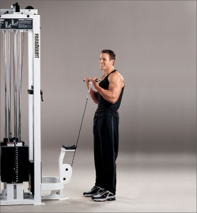 Standing Bicep Cable Curl