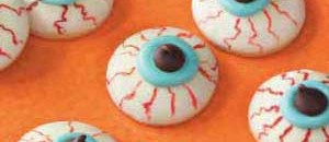 Healthy Halloween - Eyeball Cookies