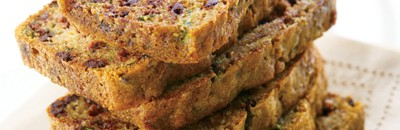 Chocolate Chip Bread with Secret Ingredient Zucchini!