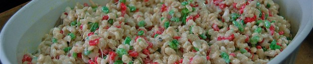 Holiday Rice Crispy Treats