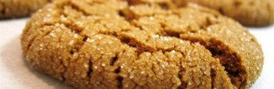 Low-Calorie Ginger Snaps